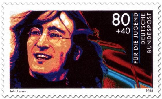 Briefmarke: John Lennon Musiker