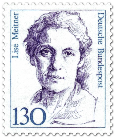 Briefmarke: Lise Meitner (Physikerin)