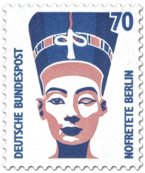 Briefmarke: Nofretete Berlin