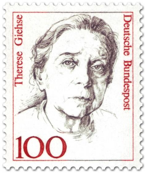 Briefmarke: Therese Giehse (Schauspielerin)