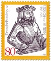 Briefmarke: Ulrich von Hutten (Ritter)