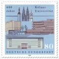 Briefmarke: 600 Jahre Universität zu Köln