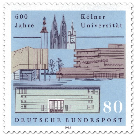 Köln Universität (Briefmarke)