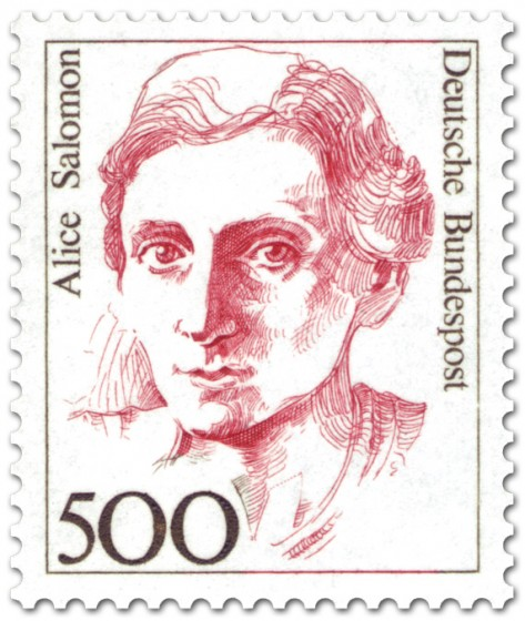 Briefmarke: Alice Salomon (Sozialreformerin)
