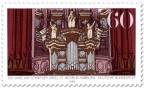 Briefmarke: Arp-Schnitger-Orgel in Hamburg