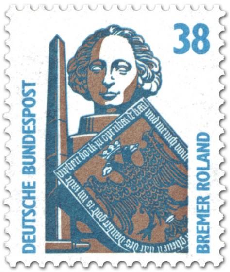 Briefmarke: Bremer Roland (38)