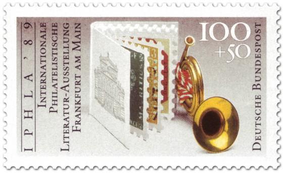 Briefmarke: Briefmarkenheft Posthorn Philatelie