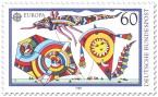 Briefmarke: Bunte Flugdrachen