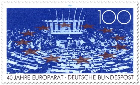 Briefmarke: 40 Jahre Europarat