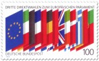 Briefmarke: Flaggen von Europa - 3. Wahlen Europaparlament