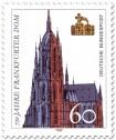 Briefmarke: Frankfurter Dom (Kaiserdom) und Kaiserkrone