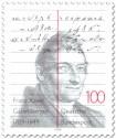 Briefmarke: Franz Xaver Gabelsberger (Erfinder der Kurzschrift)