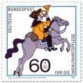 Briefmarke: Postreiter von Thurn und Taxis