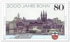 Briefmarke: 2000 Jahre Bonn (Sehenswürdigkeiten)