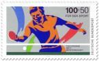 Briefmarke: Tischtennis Sport 89