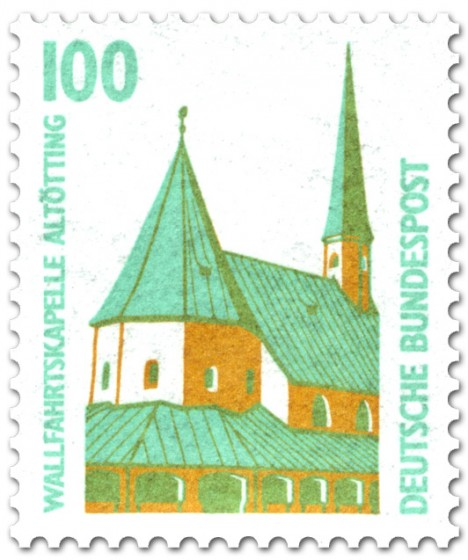 Briefmarke: Wallfahrtskapelle Altötting