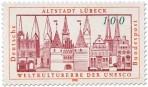 Briefmarke: Altstadt Lübeck Weltkulturerbe