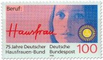 Briefmarke: Beruf Hausfrau (75 Jahre Deutscher Hausfrauen-Bund)