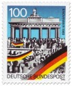 Briefmarke: Brandenburger Tor (Mauerfall)