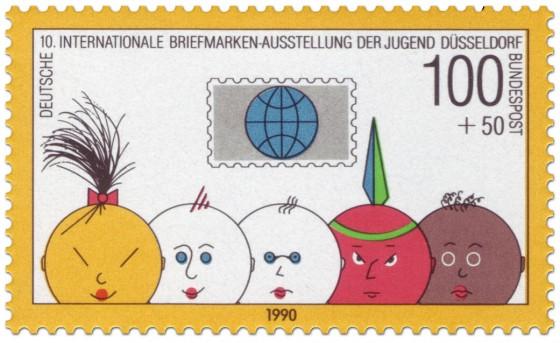 Briefmarke: Briefmarke für die Jugend