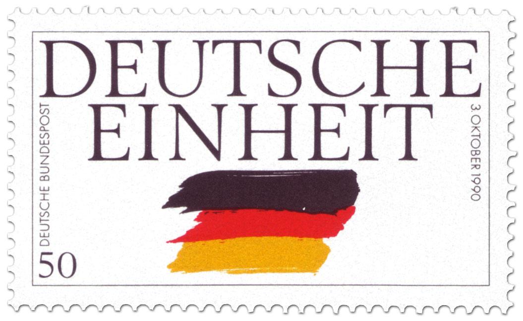 Tag Der Deutschen Einheit Briefmarke 1990