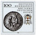 Briefmarke: 800 Jahre Deutscher Orden (Siegel)
