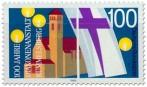 Briefmarke: 100 Jahre Diakonenanstalt Rummelsberg
