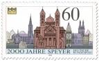 Briefmarke: 2000 Jahre Speyer (Dom und Sehenswürdigkeiten)