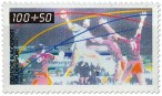 Briefmarke: Hallenhandball 1990