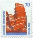 Briefmarke: Helgoland Roter Felsen
