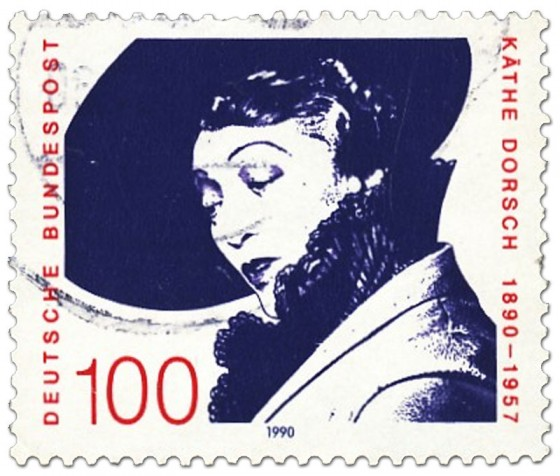 Briefmarke: Käthe Dorsch