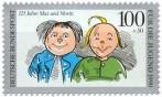 Briefmarke: Max Moritz