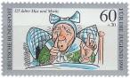 Briefmarke: Witwe Bolte (Max & Moritz)