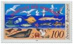 Briefmarke: Nordsee Schutz Wattenmeer