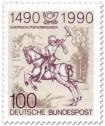 Der kleine Postreiter (von Albrecht Dürer)