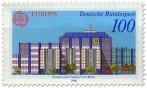 Briefmarke: Postgiroamt Frankfurt/Main