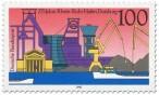 Briefmarke: Rhein-Ruhr-Hafen in Duisburg