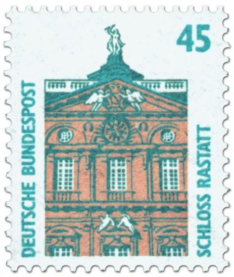 Briefmarke: Schloss Rastatt