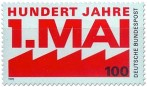 Briefmarke: Tag Der Arbeit 1 Mai 1990