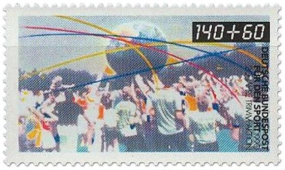 Briefmarke: Trimm Dich Deutschland