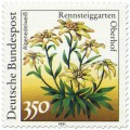Briefmarke: Alpenedelweiss