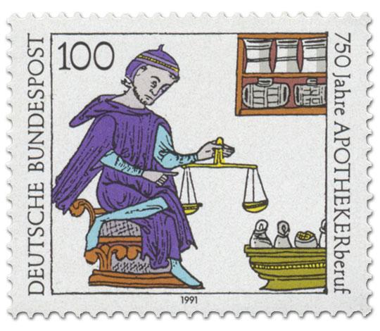 Briefmarke: Apotheker 750