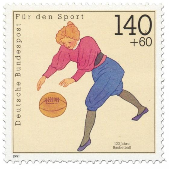Briefmarke: Basketball (100 Jahre)