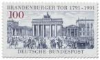 Briefmarke: Brandenburger Tor Berlin 200