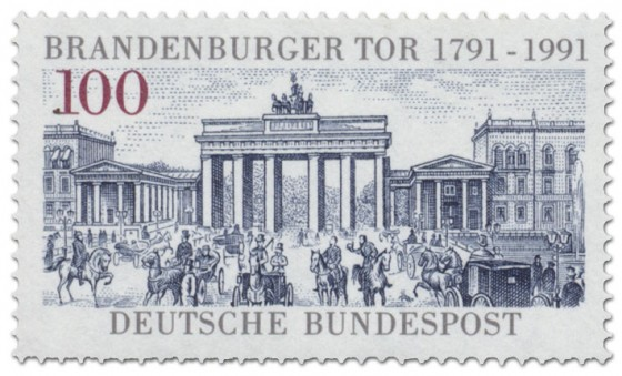 Briefmarke: Brandenburger Tor Berlin 200