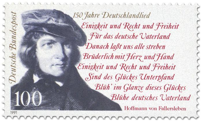 Hoffmann Von Fallersleben Deutschlandlied