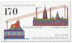 Briefmarke: 100 Jahre Energieübertragung durch Drehstrom