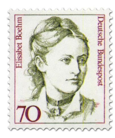 Briefmarke: Elisabet Böhm