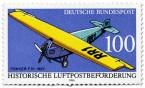 Briefmarke: Fokker F 3 1922