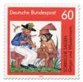 Briefmarke: Geiger Wassermann (Sorbische Sage)